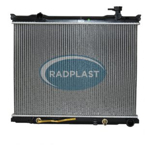 Radiador de carro Kia modelo Sorento 2.5