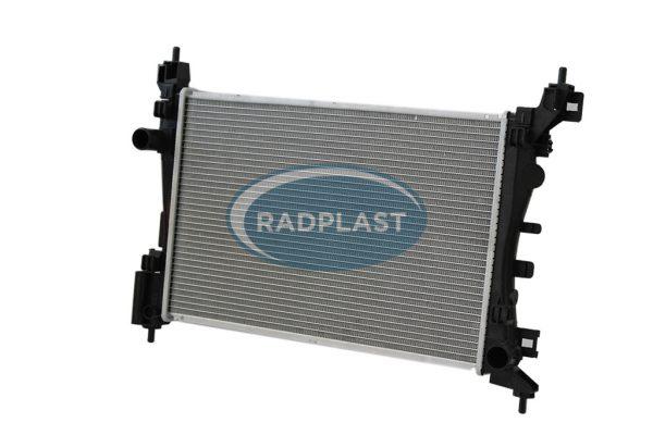 Radiador de carro Fiat modelo Punto 1.4 / 1.6