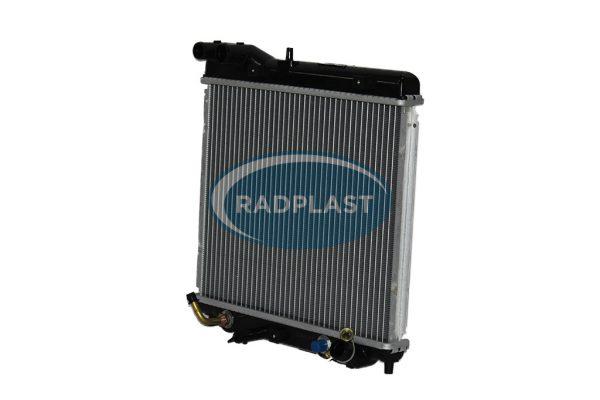 Radiador de carro Honda modelos Fit 1.4 / 1.5 16V Aut.