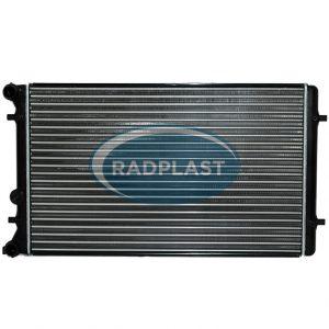 Radiador de carro Audi modelos A3 1.6 / 1.8 AC Mec., Golf 1.6 / 1.8