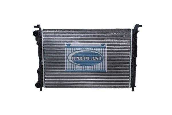 Radiador de carro Fiat modelo Palio