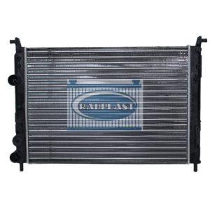 Radiador de carro Fiat modelo Palio Fire 1.0 / 1.3