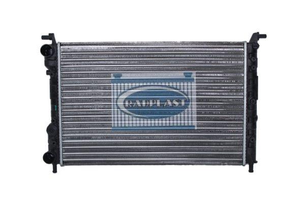 Radiador de carro Fiat modelo Uno Mille Fire 1.0